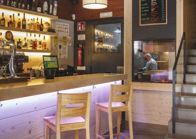 Bar del Restaurante Boigorri de Allariz